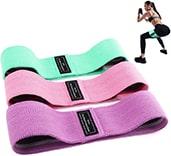 Bandas elásticas de Amazon para hacer ejercicios de glúteos
